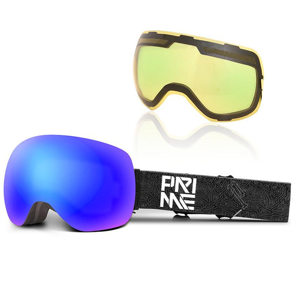 Unisex Prime Upgrade Magnetic Snow Goggles