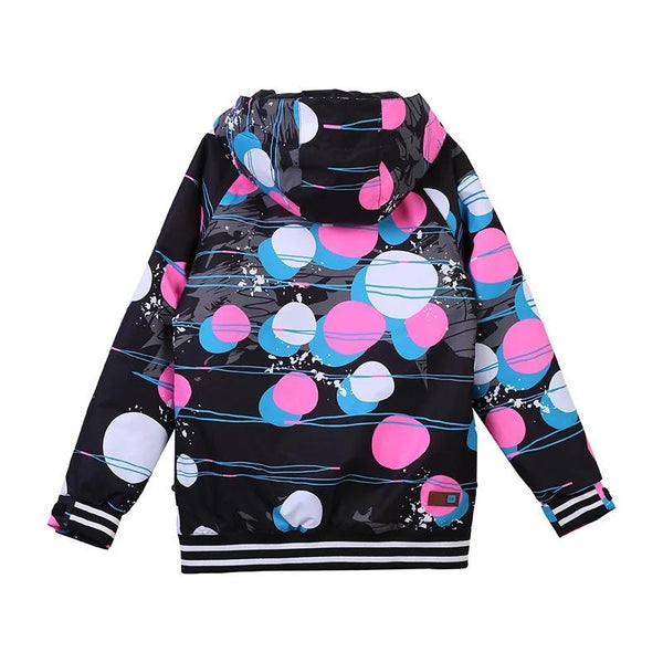 Girls Gsou Snow Colorful Waterproof Winter Snow Jacket - snowverb