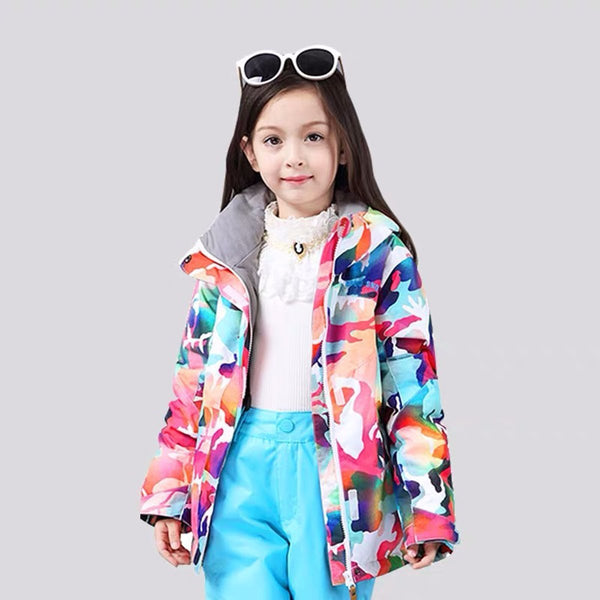 Girls Gsou Snow Fairytale 10k Ski Jacket - snowverb