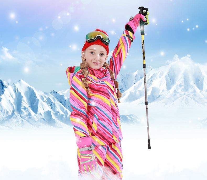 Girl's Phibee Everbright Winter Outdoor Sportswear Waterproof Snow Jacket