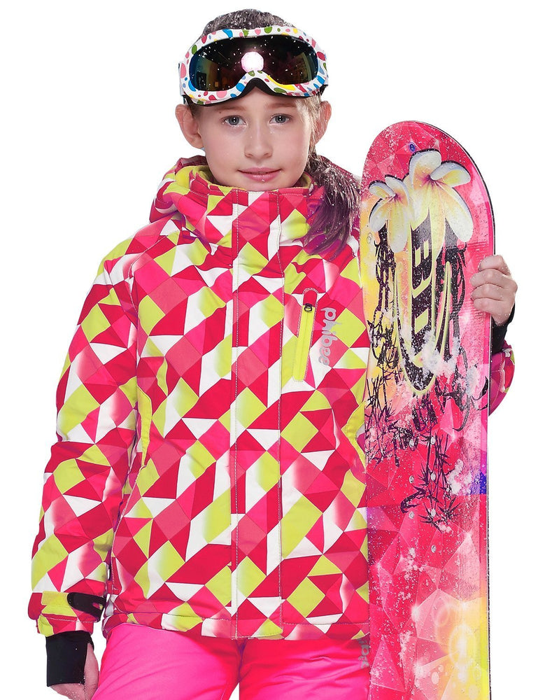 Girl's Phibee Freefall Winter Sportswear Waterproof Snowboard Jacket