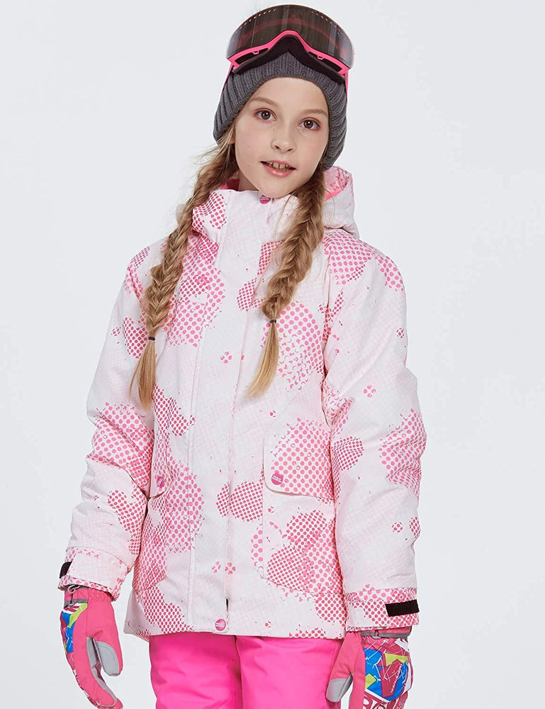 Girl's Phibee Luna Winter Outdoor Sportswear Waterproof Ski Jacket
