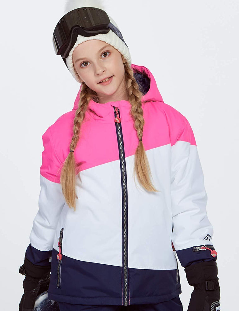 Girl's Phibee Mountain Powder Bowl Winter Outdoor Sportswear Waterproof Snow Jacket