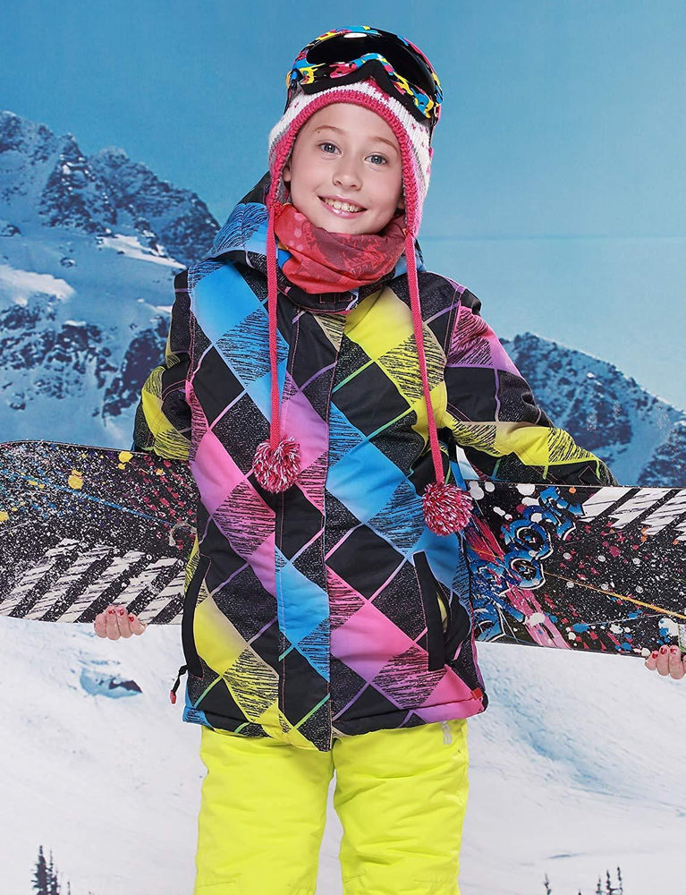 Girl's Phibee Mountains Lover Winter Outdoor Sportswear Waterproof Snow Jacket