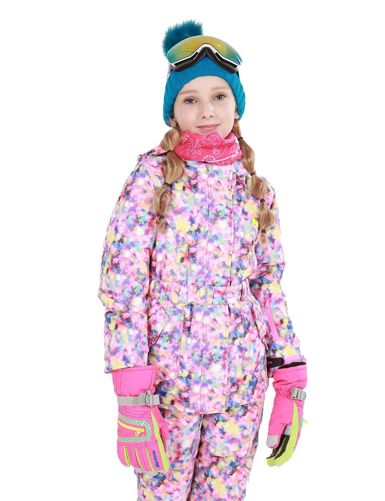 Girl's Phibee Nova Winter Outdoor Sportswear Waterproof Snow Jacket