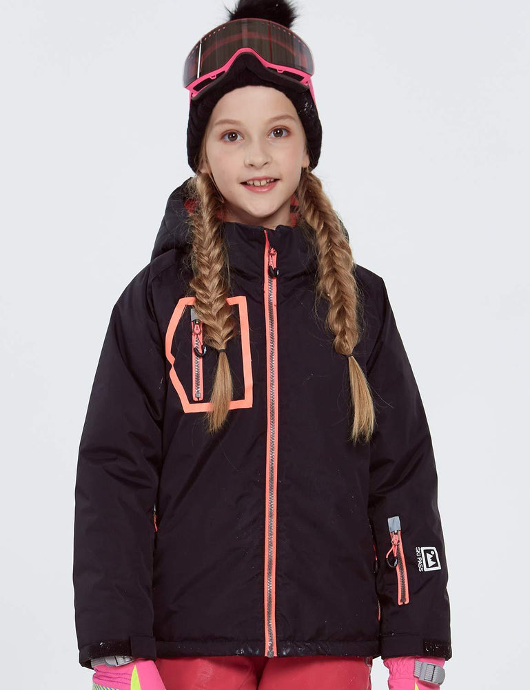 Girl's Phibee Novus Winter Outdoor Sportswear Waterproof Snow Jacket
