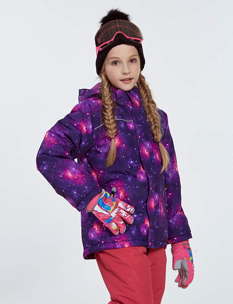 Girl's Phibee Skylight Winter Outdoor Sportswear Waterproof Snow Jacket