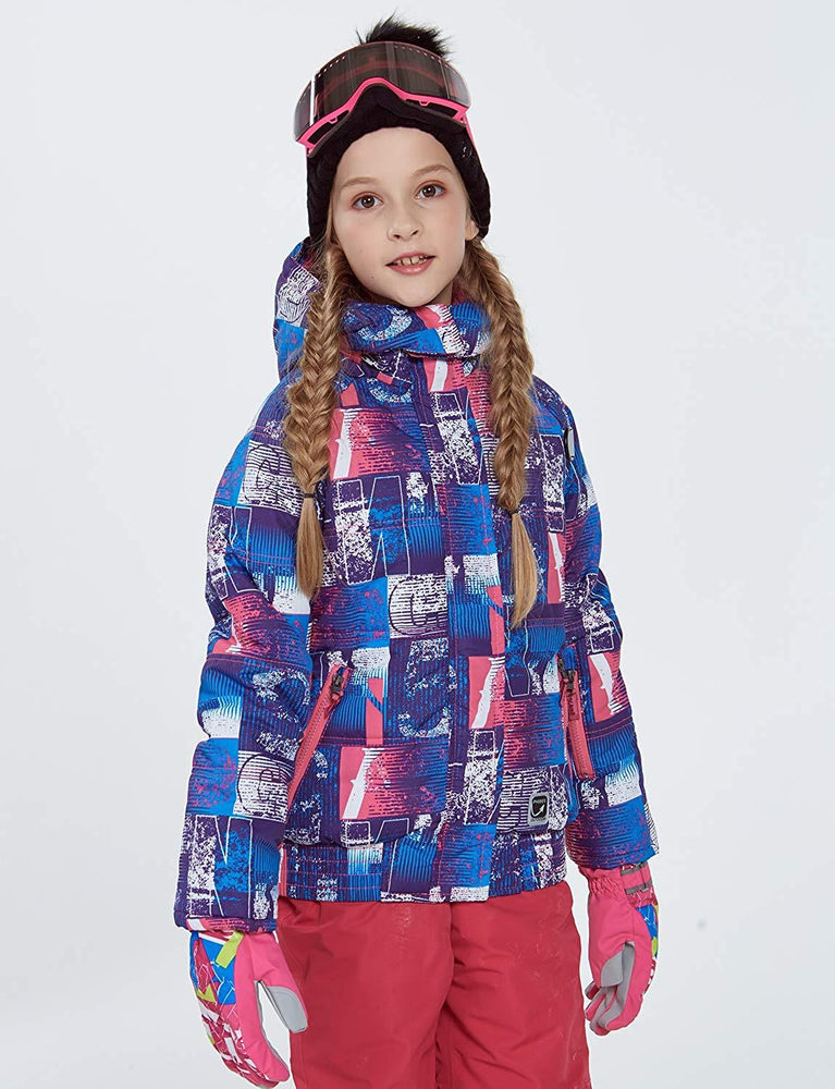 Girl's Phibee Snowland Winter Outdoor Sportswear Waterproof Snow Jacket