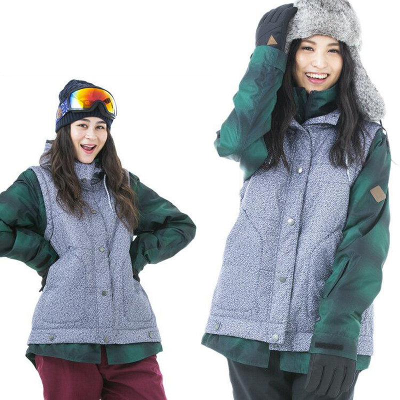 Women's Japan Secret Garden Playmore Premium Snowboard Jacket