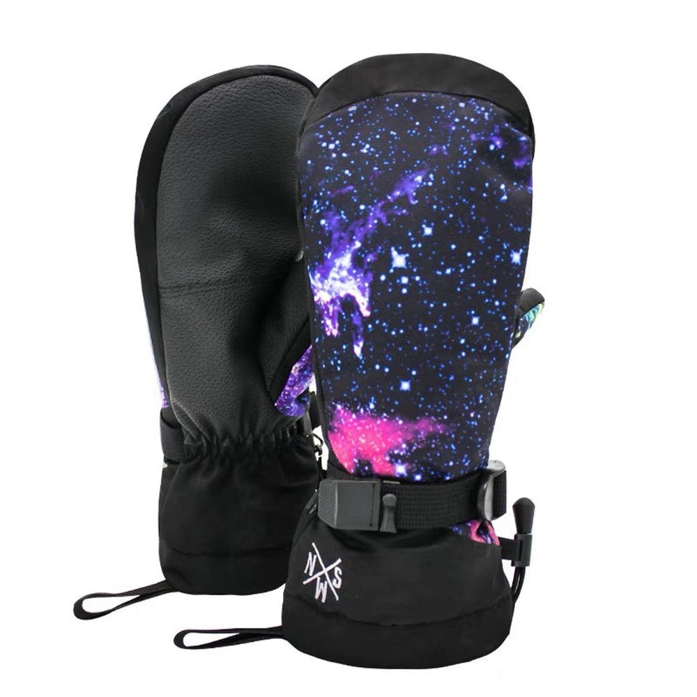 Men's Colorful Waterproof Snowboard Mitten