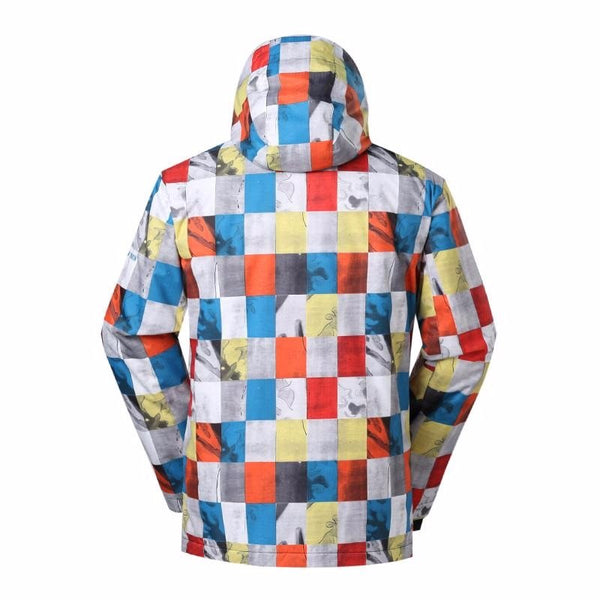 Men's Gsou Snow 10k Niseko Mountain Fantasy Snowboard Jacket - snowverb