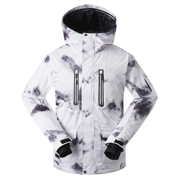 Men's Gsou Snow 15k Outdoor Creation Snowboard Jacket - snowverb