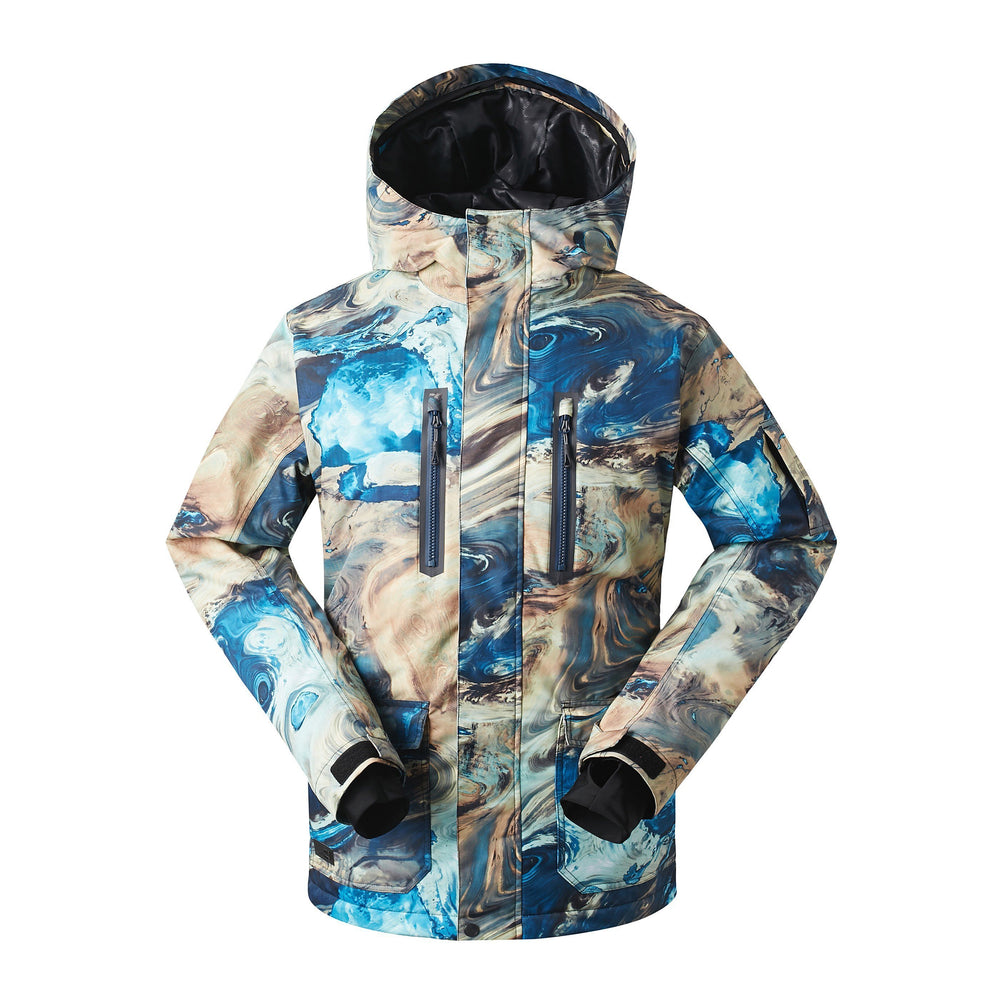 Men's Gsou Snow Mountain Elite Tide 15K Insulated Snowboard Jacket
