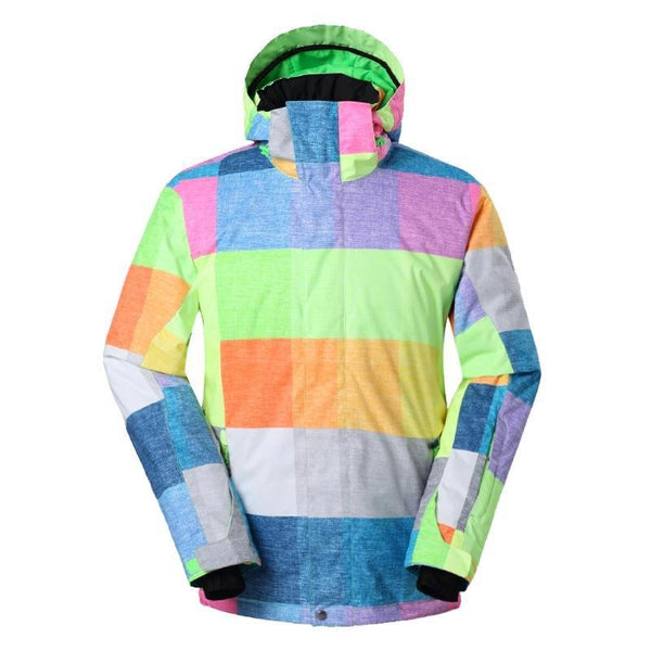 Men's Gsou Snow Stormchaser 10k Insulated Snowboard Jacket - snowverb