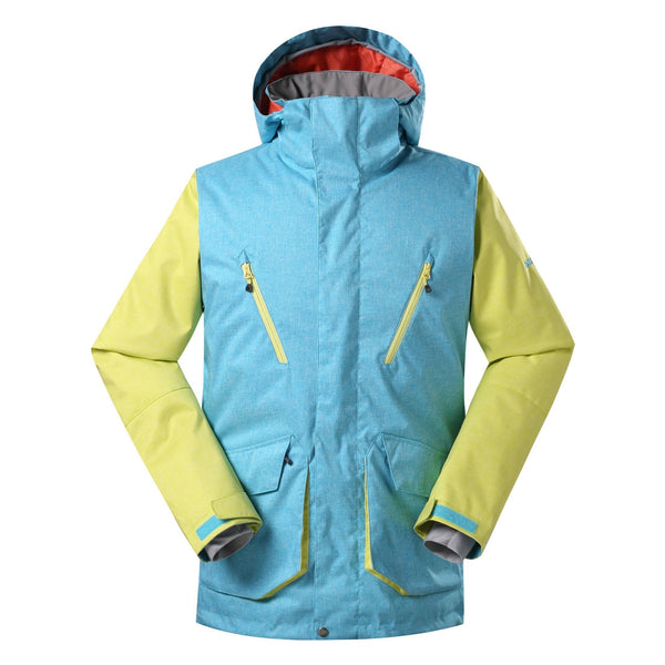 Men's Gsou Snow Yorkshire 10k Insulated Snowboard Jacket - snowverb