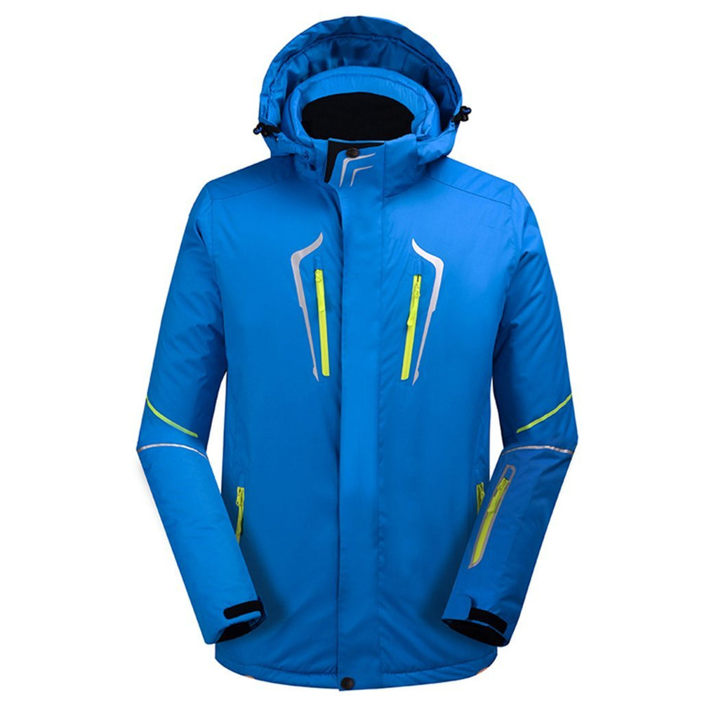 Men's Ski Jacket Outdoor Waterproof Windproof Coat Snowboard Mountain Rain Jacket New