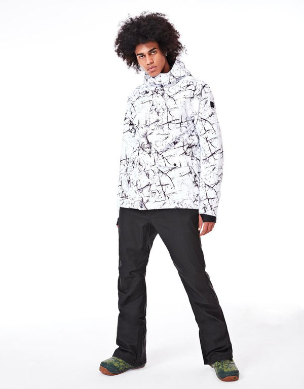 Men's SMN 5K Ink Metropolis Ski Suits - snowverb