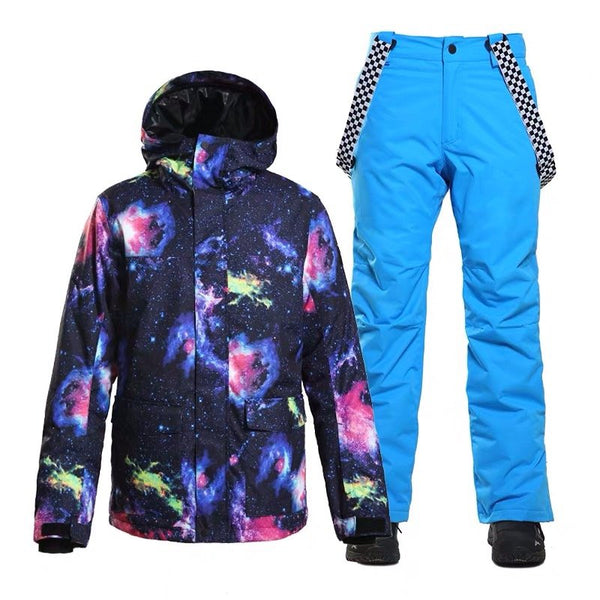 Men's SMN Winter Skylight Free Ski Suits - snowverb