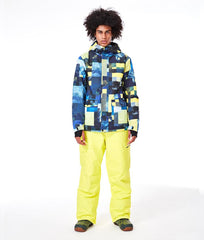 Men's SMN Yellowstone Mountains Freestyle Ski Suits