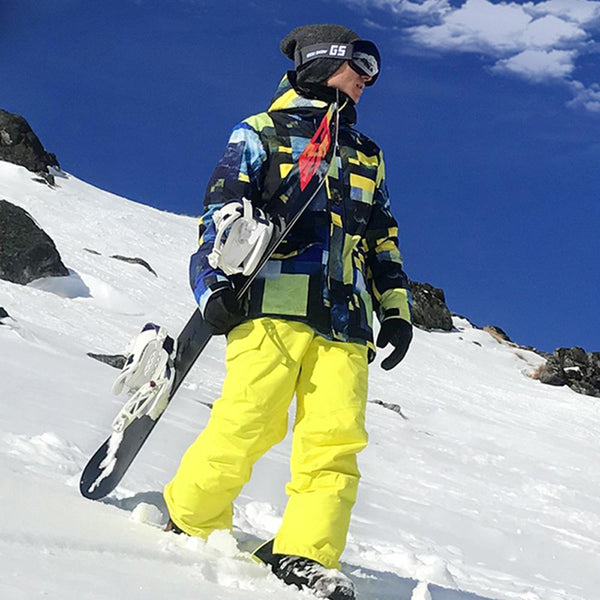Men's SMN Yellowstone Mountains Freestyle Ski Suits - snowverb