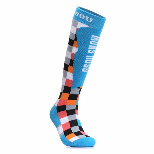 Men's Sporty Ski Snowboard Socks - snowverb