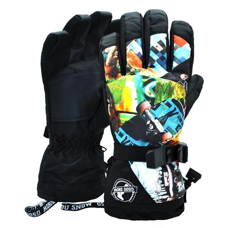 Men's Waterproof Adventure Snowboard Gloves