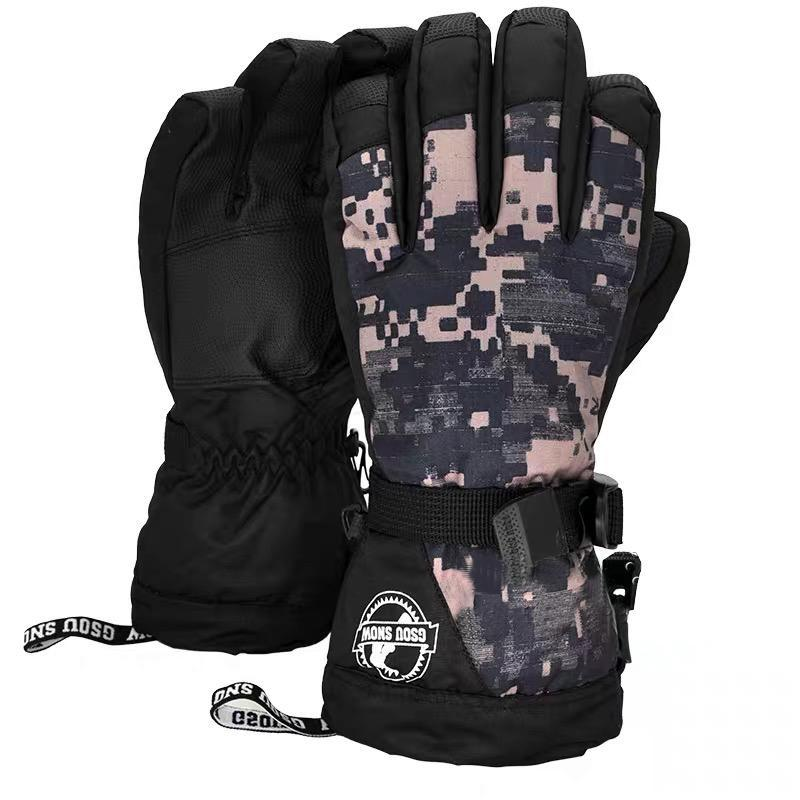 Men's Waterproof Jetty Snowboard Gloves