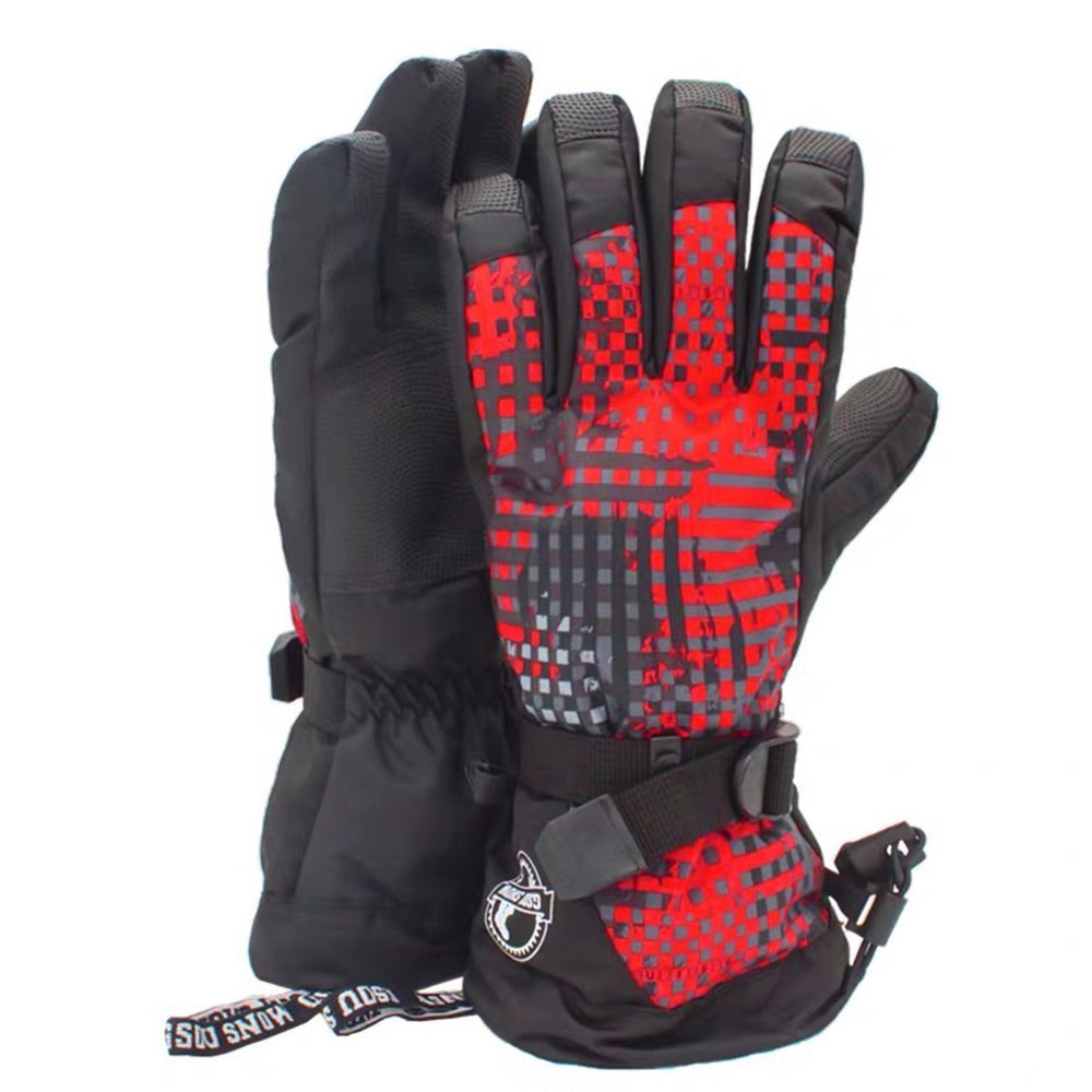 Men's Waterproof Mountains Enthusiast Ski Gloves