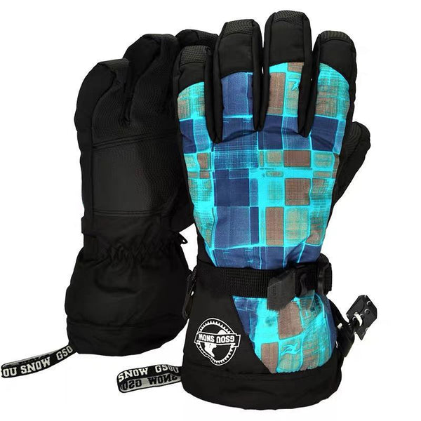 Men's Waterproof Skyfly Snowboard Gloves - snowverb