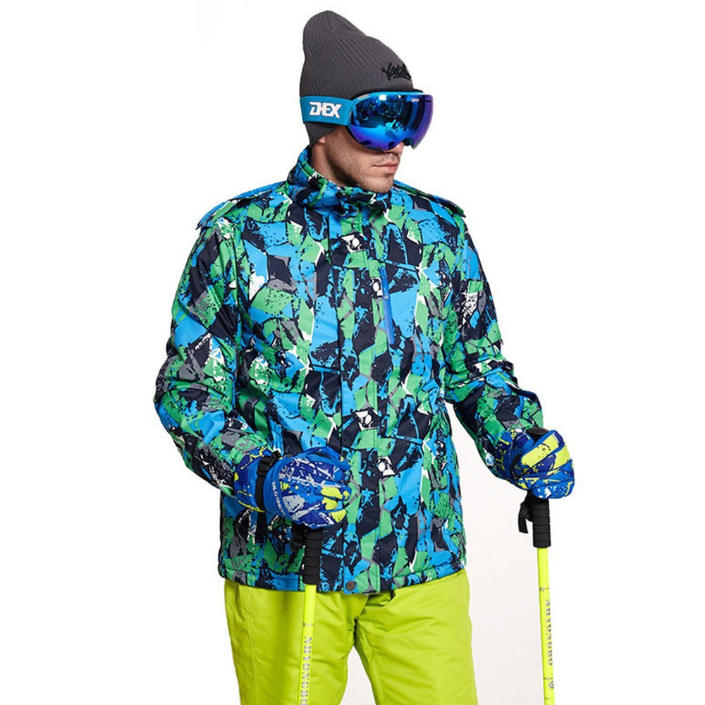 Men's Wild Snow Adventure Waterproof Insulated Ski Jacket