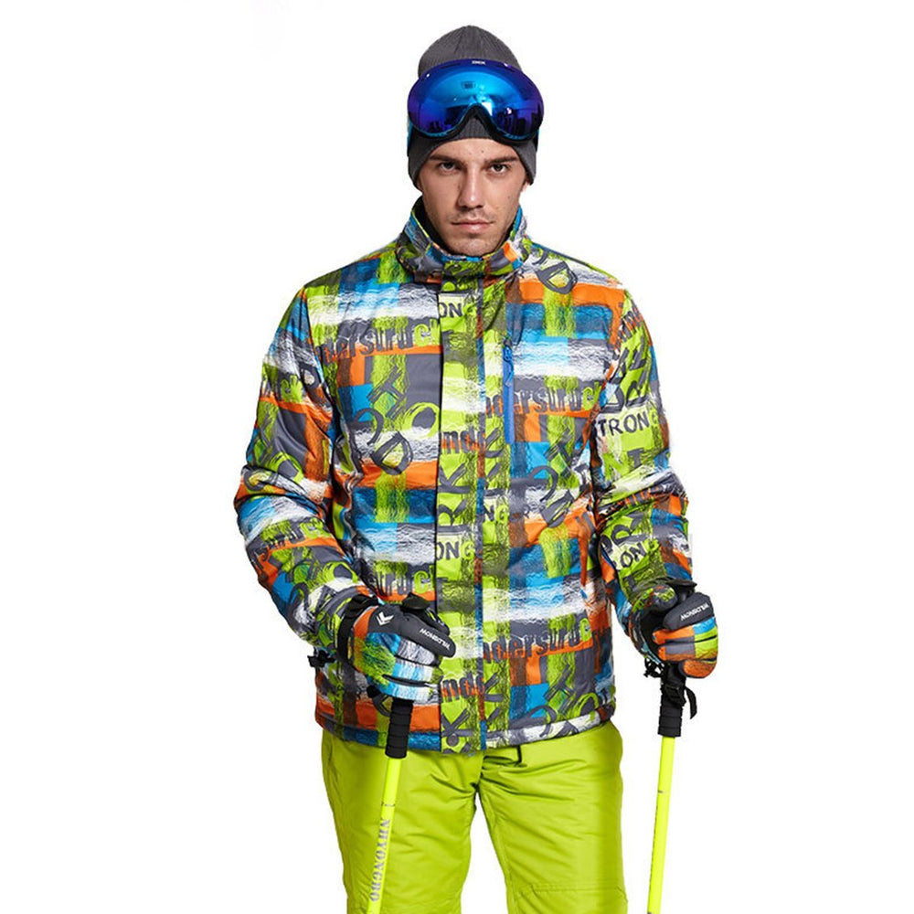 Men's Wild Snow Thunder Struck Waterproof Insulated Ski Jacket