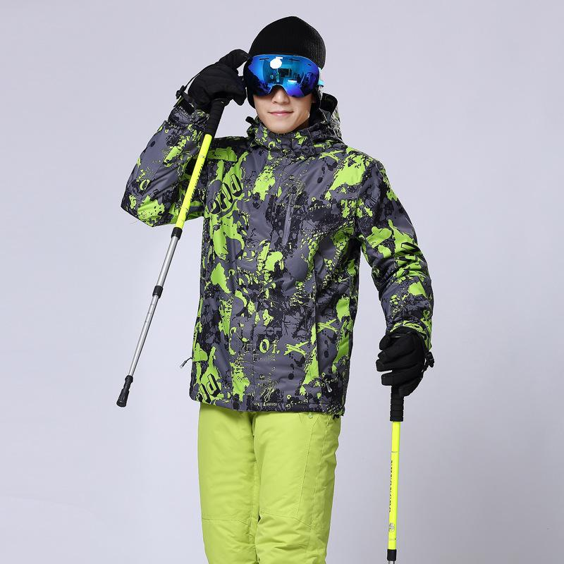 Men's Wild Snow Vally Waterproof Insulated Ski Jacket
