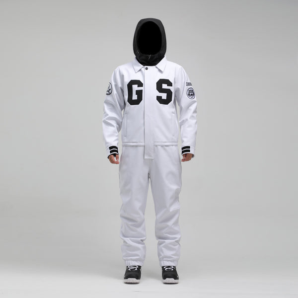 Men's Gsou Snow Winter Young Fashion 15k Waterproof One Piece Snowboard Suits