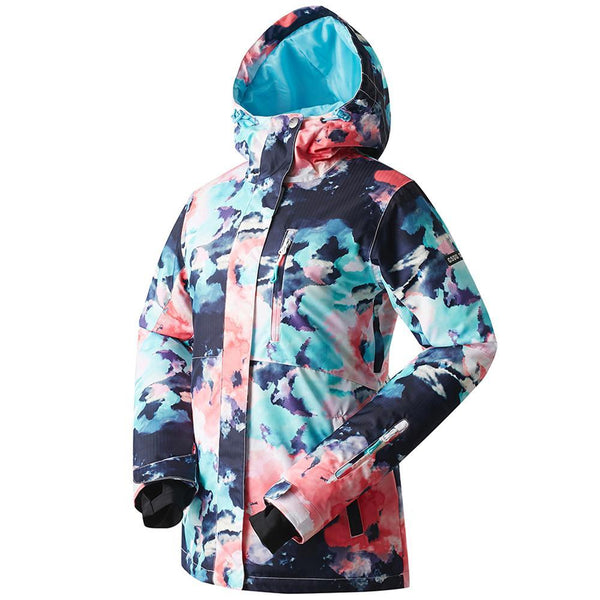 Women's Gsou Snow 10k All Functional Winter Snowboard Jacket - snowverb