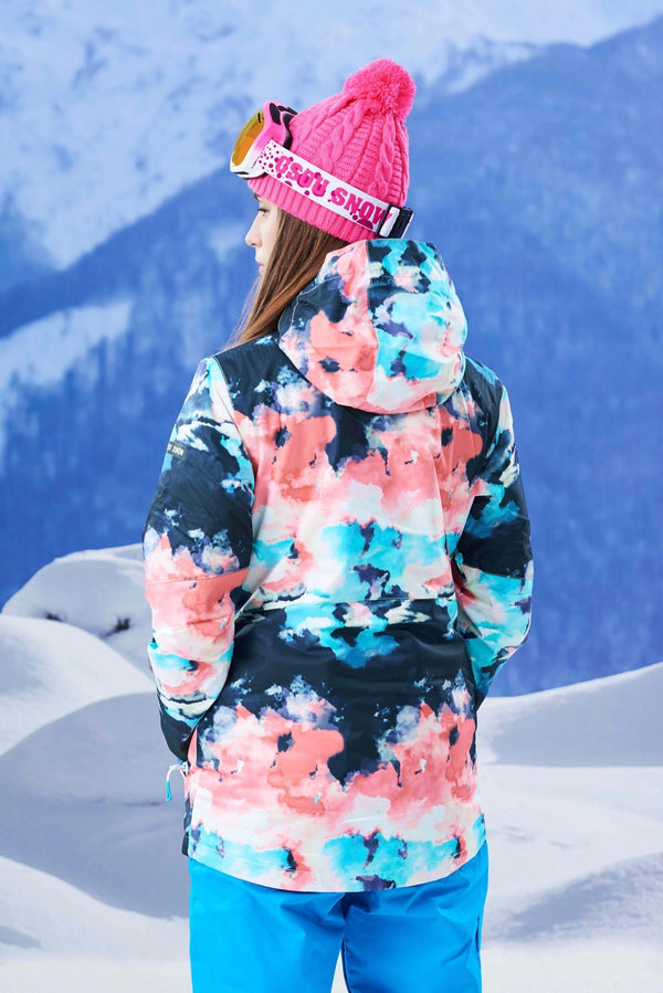 Women's Gsou Snow 10k All Functional Winter Snowboard Suits - snowverb