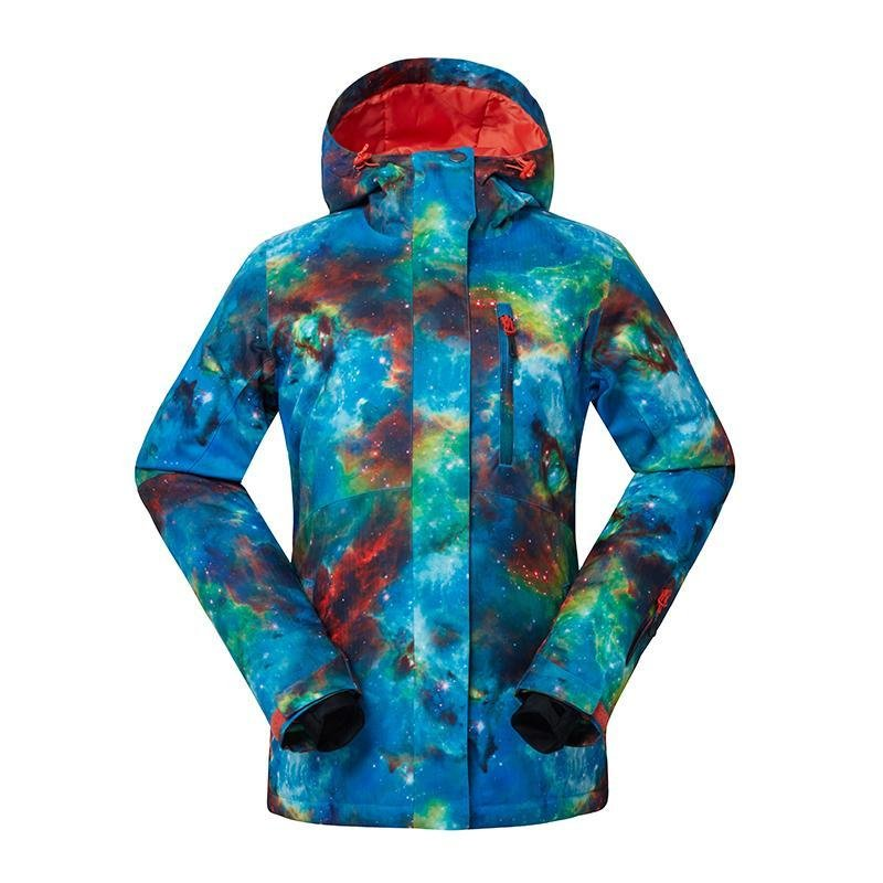 Women's Gsou Snow 10k Skyblue Ski Jacket