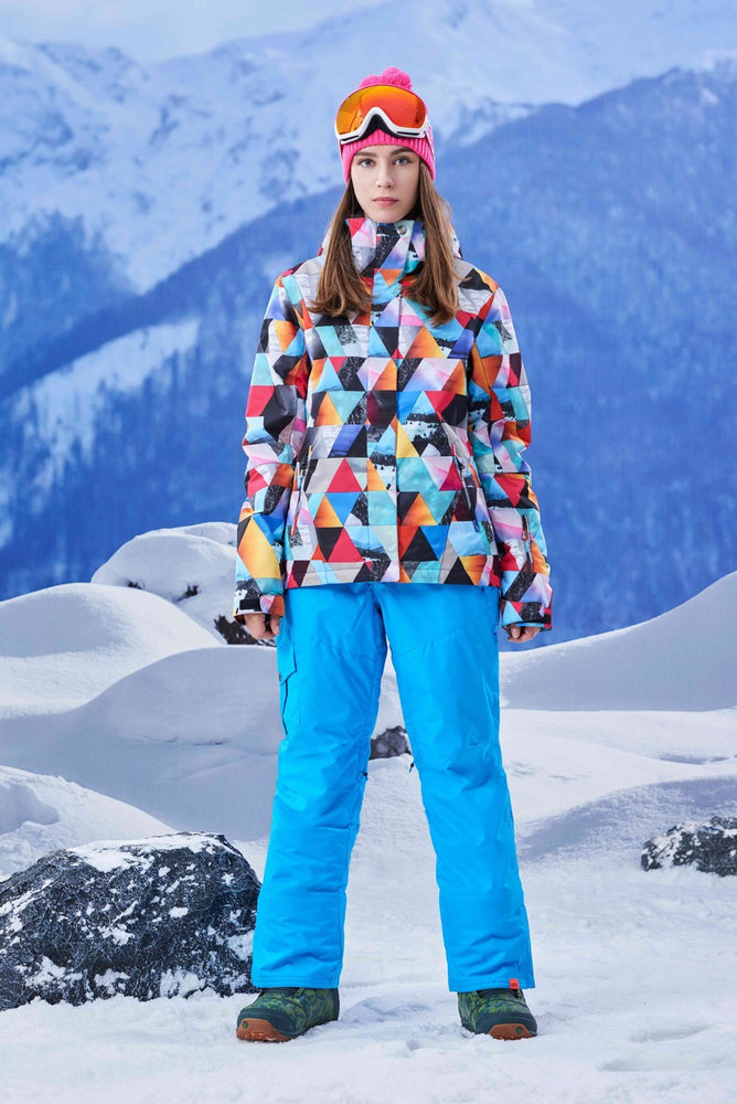 Women's Gsou Snow 15k Snowy Mountains Ski Suits