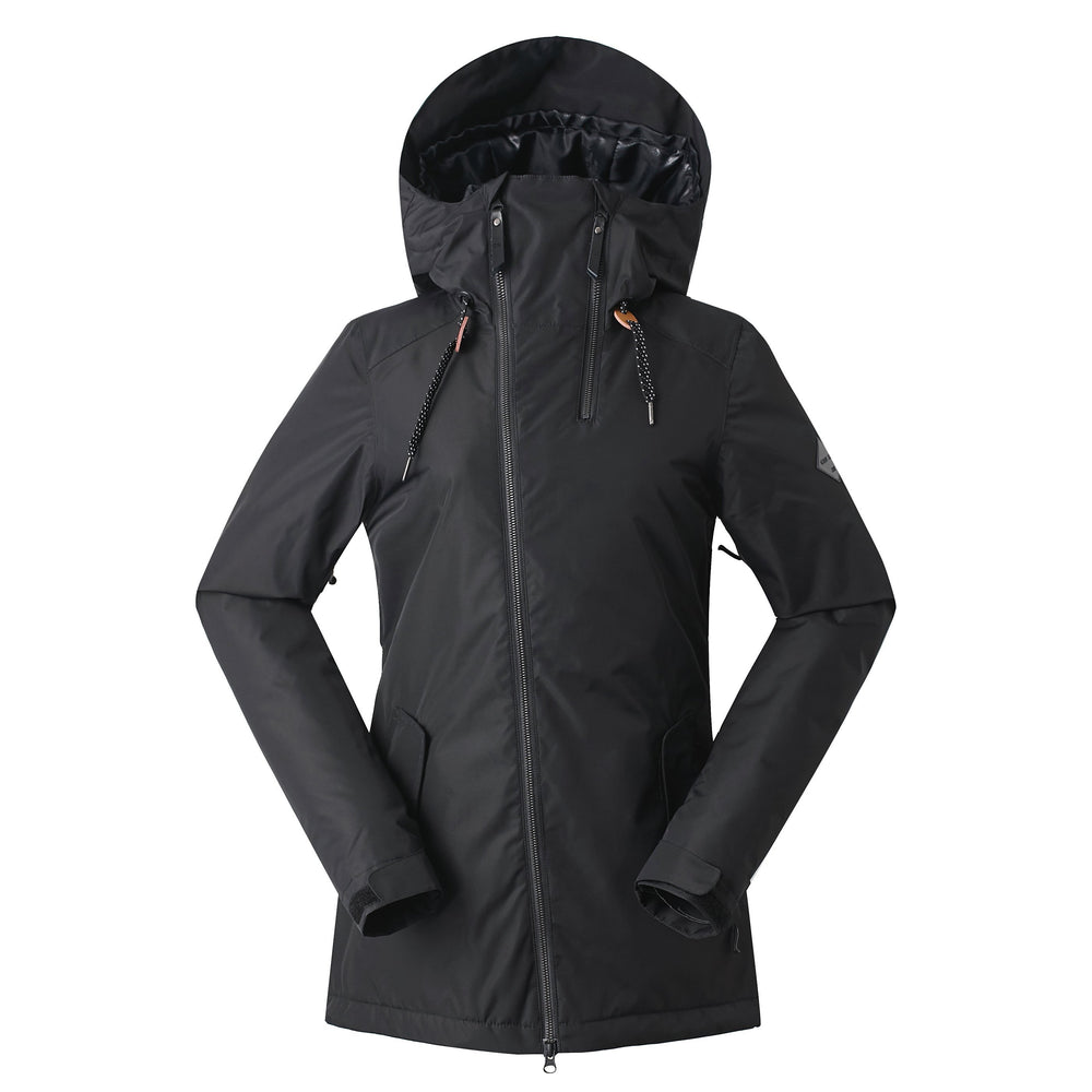Women's Gsou Snow 20k Alpine Mountain Elite Ski Jacket - Black