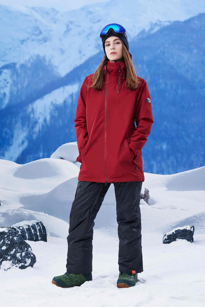 Women's Gsou Snow 20k Alpine Mountain Elite Ski Suits Snow Suits