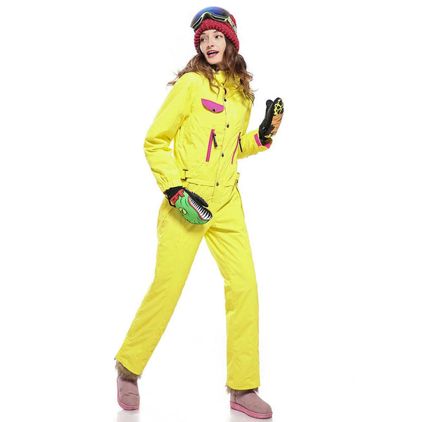 Women's Insulated One Piece Freedom Snowsuits - snowverb