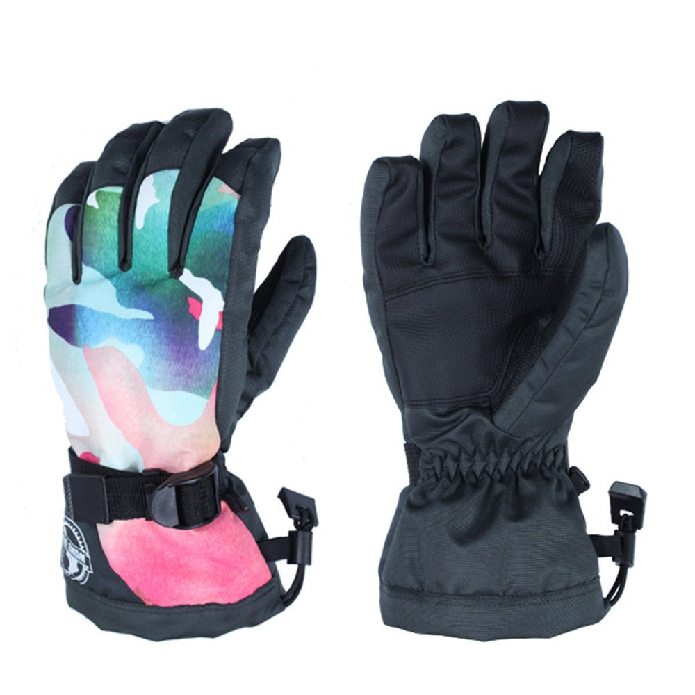 Women's Joyful Waterproof Ski Gloves