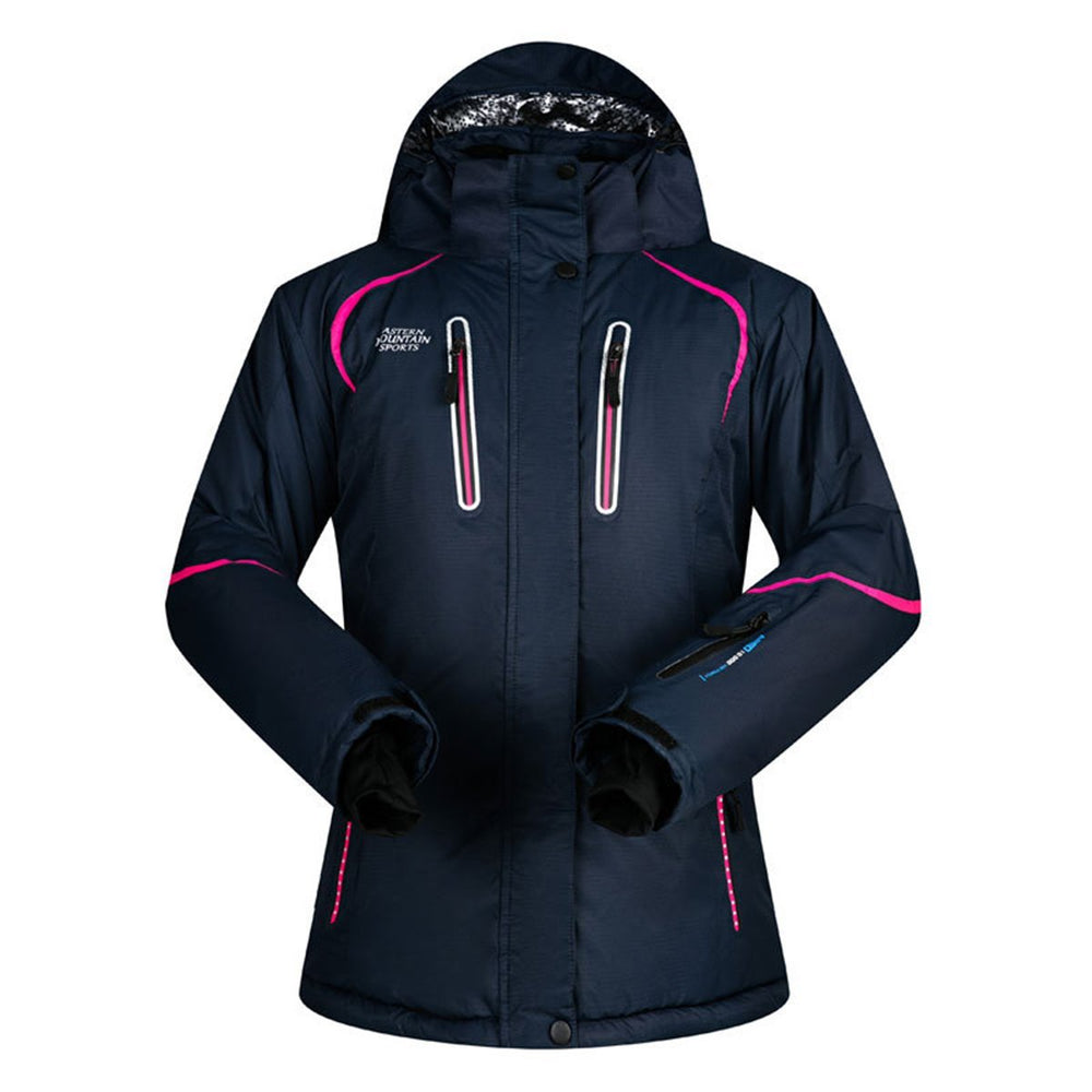 Women's Mountain Sports Waterproof Insulated Ski Jacket