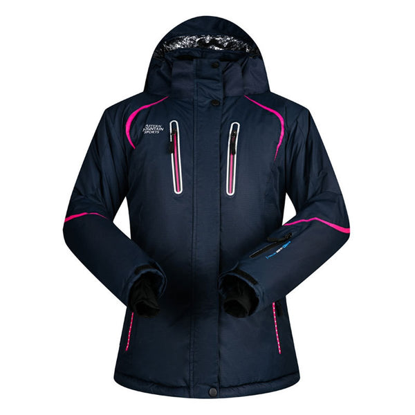 Women's Mountain Sports Waterproof Insulated Ski Jacket - snowverb