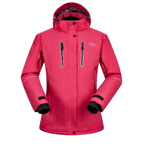 Women's Mountain Sports Waterproof Insulated Snow Jacket - snowverb