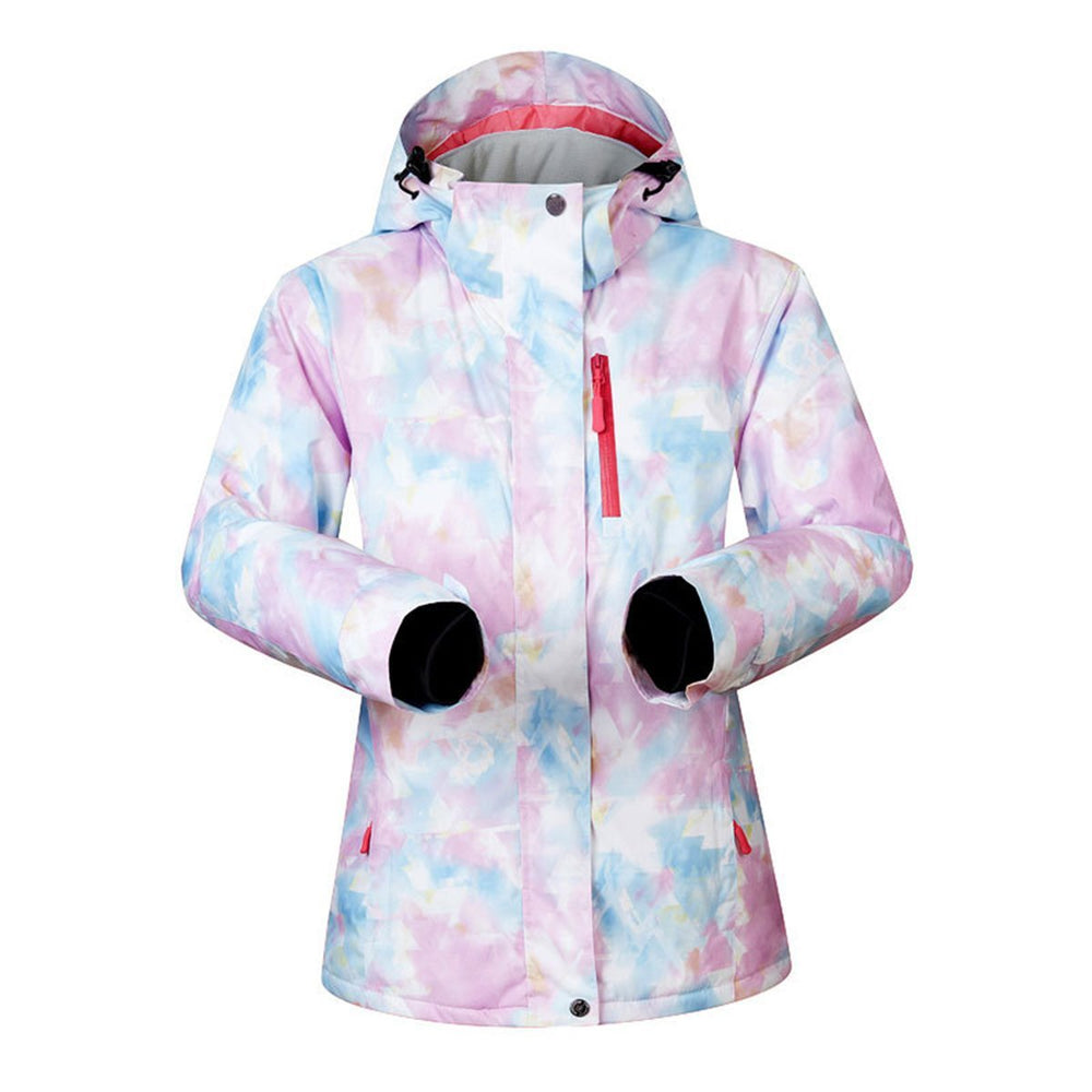 Women's Mutu Snow Brington Printed Insulated Snowboard Jacket