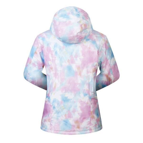 Women's Mutu Snow Brington Printed Insulated Snowboard Jacket - snowverb