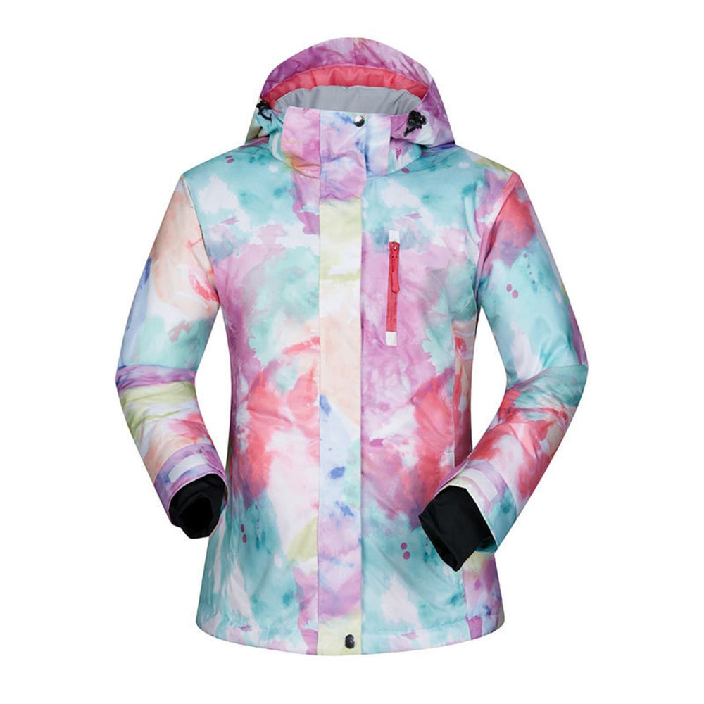 Women's Mutu Snow Park Camo Bright Insulated Ski Snowboard Jacket