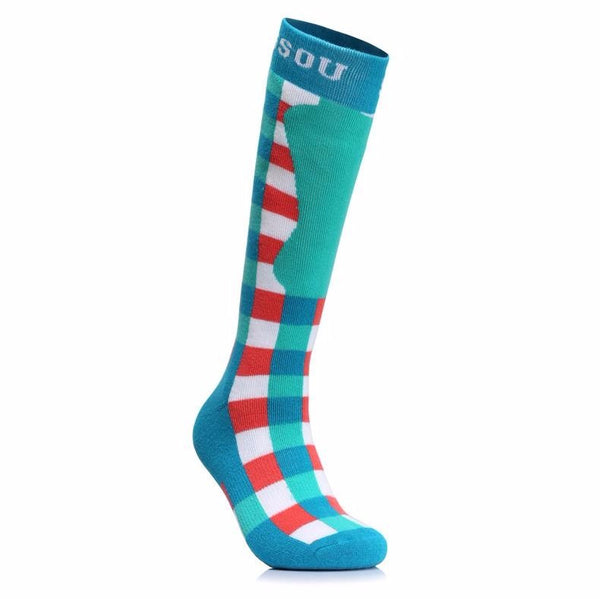 Women's Patriot Snow Socks - snowverb