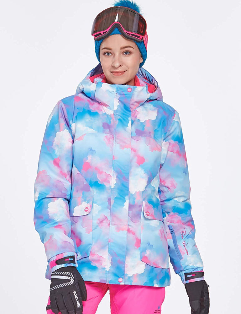 Women's Phibee Artistic Creation Waterproof Insulated Snowboard Jacket