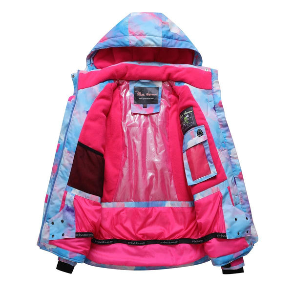 Women's Phibee Artistic Creation Waterproof Insulated Snowboard Jacket - snowverb